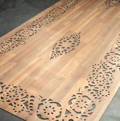 I tappeti di legno di arzu firuz - Tappeti ikea cucina ...