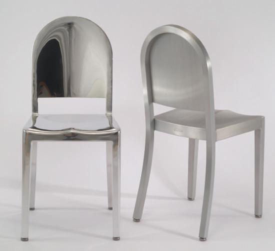 Morgans la sedia emeco di andr e putman for Sedie alluminio design