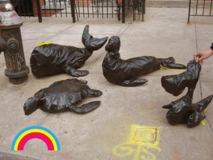 Bagimals trashbags Kristin Eddington