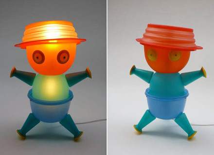 Tupperware art Antoine Laymond