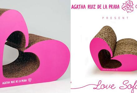 LoveSofa Agatha Ruiz de la Prada