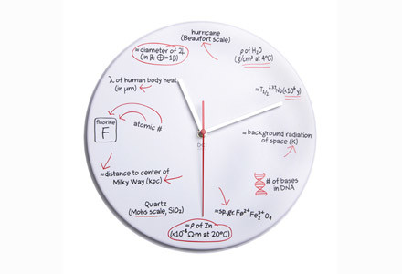 Scienze Quiz Clock