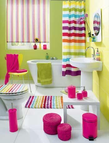 Idee arredo bagno colorato 14 - Arredo bagno colorato ...