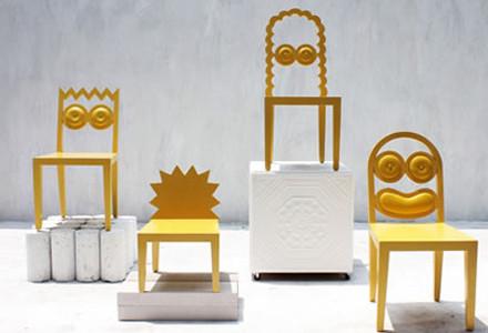 56th Studio sedie Simpson