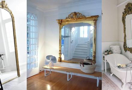 Idee specchio barocco
