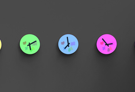 Color clock Shen Yuebo
