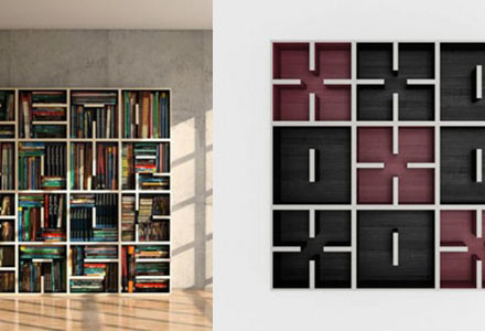 ABC Bookshelf Saporiti