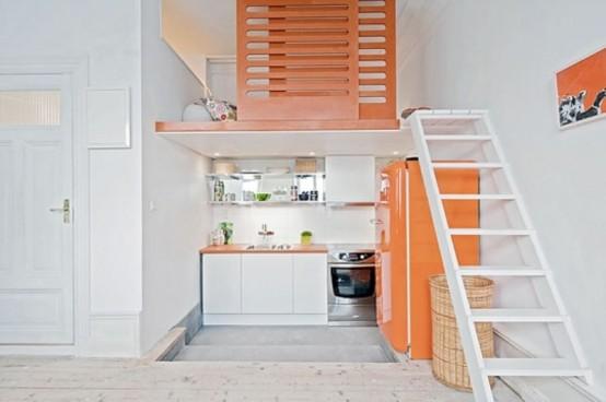 Idee arredo cucina piccola-30  DesignBuzz.it