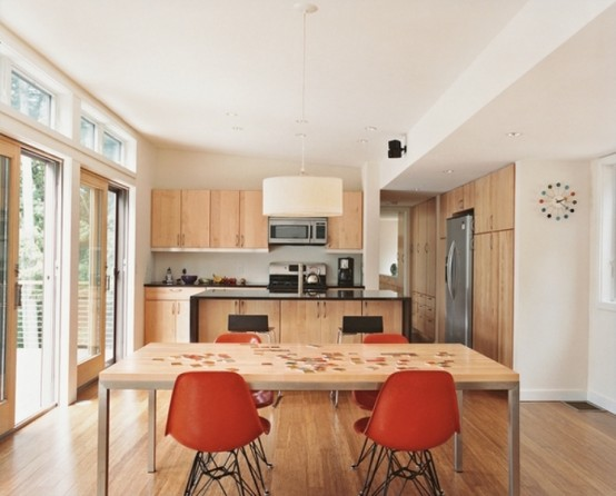 Idee Tavolo Cucina Piccola : Idee arredo cucina piccola-43 DesignBuzz ...