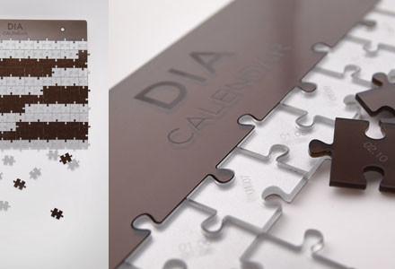 Calendario puzzle