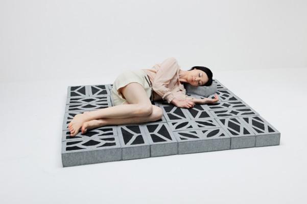 falsi mattoni di Torafu  DesignBuzz.it