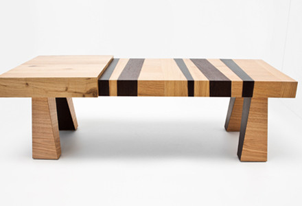 Wood-con-fusion Table
