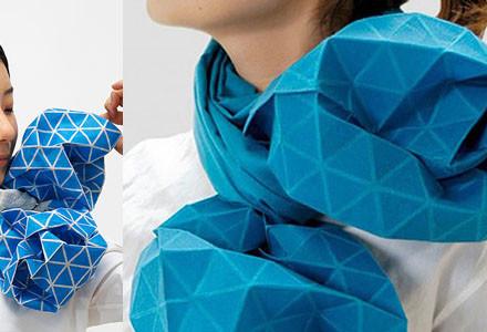sciarpa origami