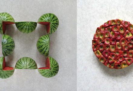 Geometrie cibo Sakir Gokcebag