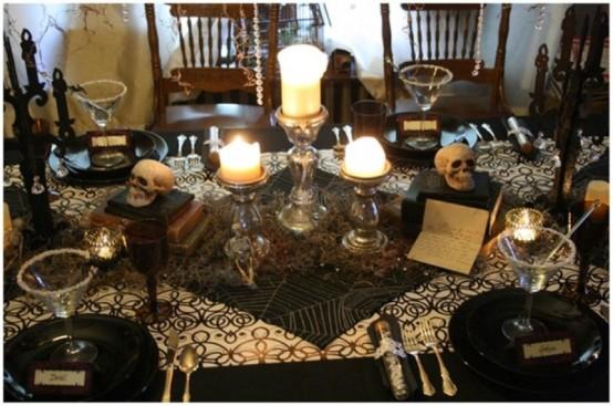 Idee per decorare la tavola di halloween - Decorazioni tavola halloween ...