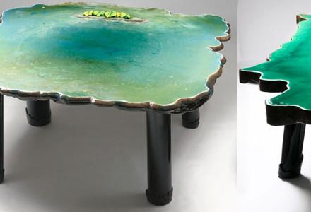 Tavoli marini Gaetano Pesce