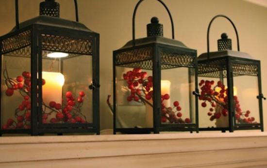 decorazioni natale lanterne 09. Black Bedroom Furniture Sets. Home Design Ideas