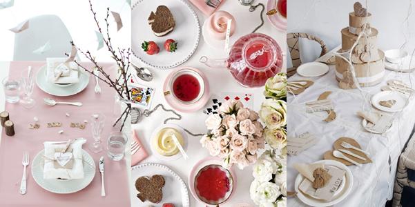 Idee per la tavola di san valentino - Idee tavola san valentino ...