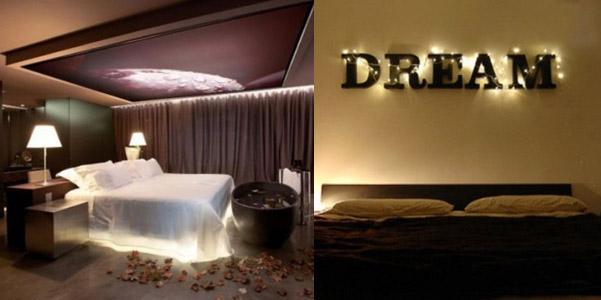 Idee per illuminare la camera da letto  DesignBuzz.it