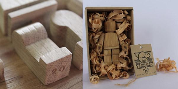 Lego legno Malet