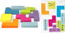 Post it come Tetris