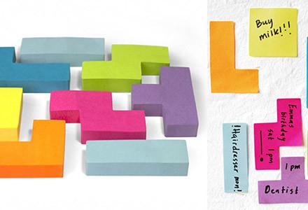 tetris-sticky-notes