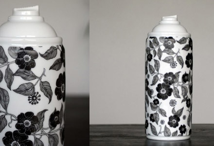 Spray Paint Porcelain