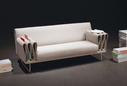Tri-fold sofa