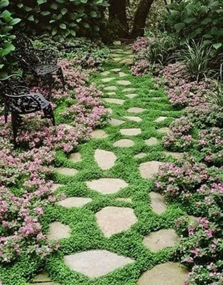 idee vialetto giardino-31 DesignBuzz.it
