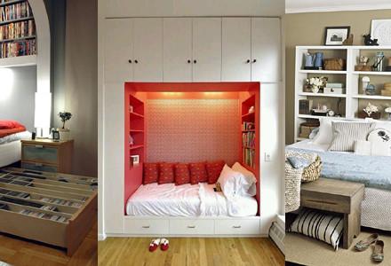 Idee contenitori camera letto
