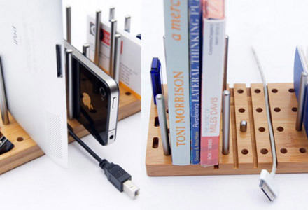 Modular desktop organizer