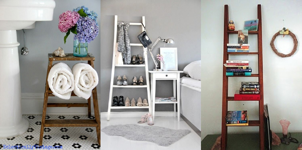 Idee decor arredare con la scala for Asciugamani ikea