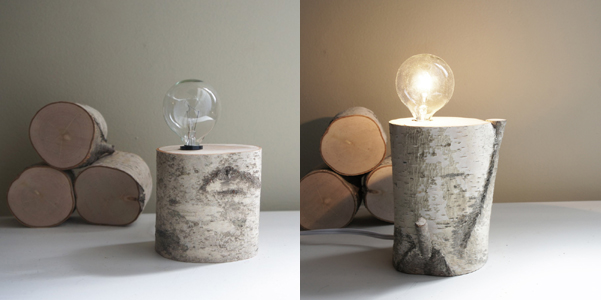 Lampada di legno fai da te  DesignBuzz.it