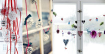 Idee decor Natale: le finestre