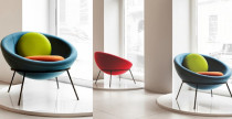 Nuova Bowl chair di Arper