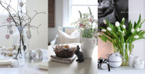 Idee decor: Pasqua in stile scandinavo