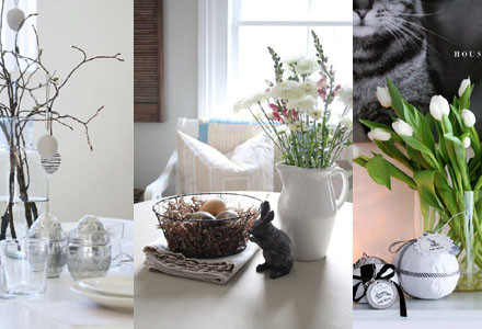 Idee decor Pasqua stile scandinavo
