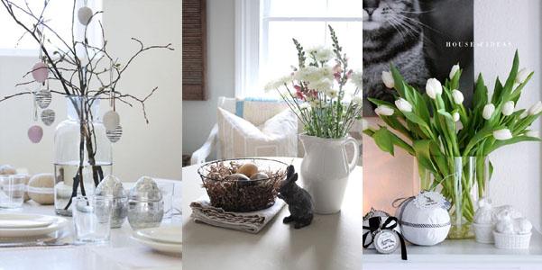 Idee decor Pasqua stile scandinavo