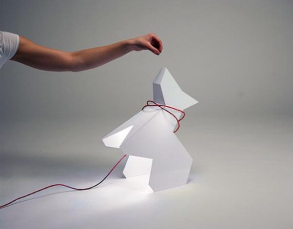 Trololo dog lamp