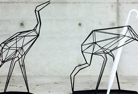 Portaombrelli origami