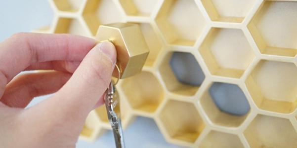 Portachiavi honey i m home - Portachiavi da parete design ...