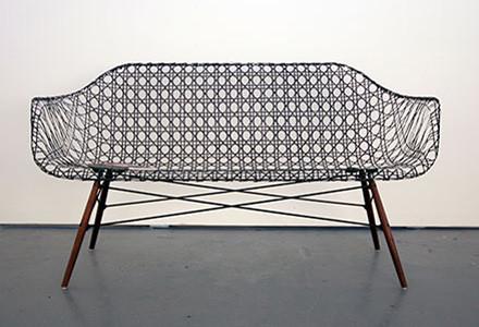 Eames Fiberglass Shell Armchair