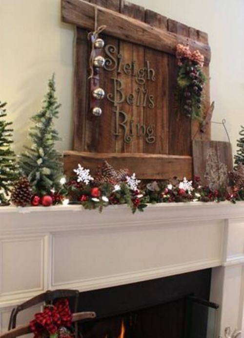 Decorazioni di natale in stile country chic - Natale country decorazioni ...
