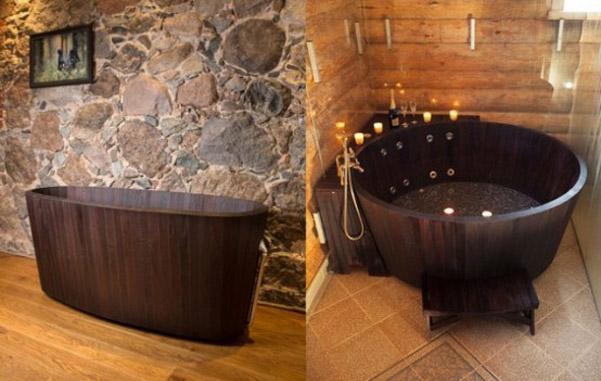 Vasca Da Bagno Legno : Vasca da bagno in legno khis bath vasche da bagno in legno di