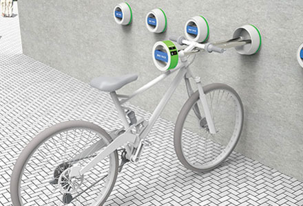 Parcheggio bici Wall Hanger Bike Rack