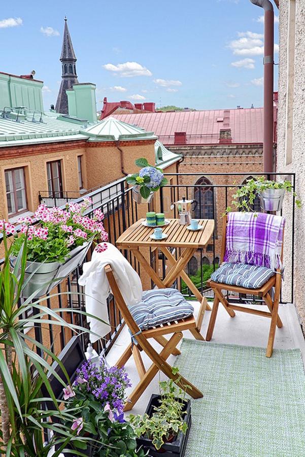 Beautiful Come Arredare Un Piccolo Terrazzo Images - Design and ...