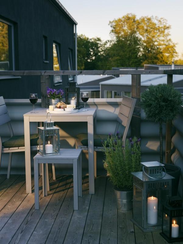 Come arredare un balcone piccolo - Mobili balcone ikea ...