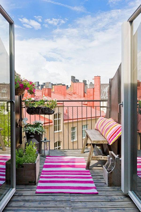 Come arredare balcone piccolo 31 for Arredare un balcone