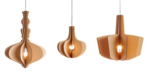 Lampade di cartone Vicara  DesignBuzz.it