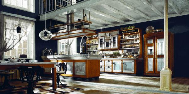 Cucina bar e barman di marchi cucine - Marchi cucine moderne ...